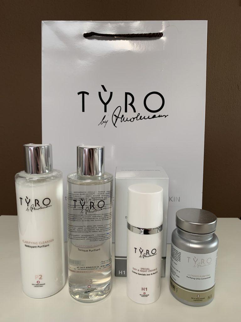 TYRO Purifying pakket bij Beauty in Vanity Heerenveen