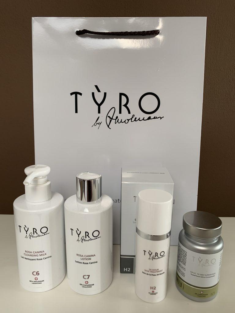 TYRO Hydrating Pakket Voor De Droge Huid bij Beauty in Vanity Heerenveen