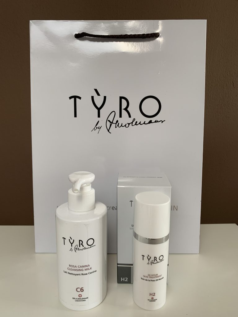 TYRO Hydrating Pakket Voor De Droge Huid zonder neutraceuticals en lotion bij Beauty in Vanity Heerenveen